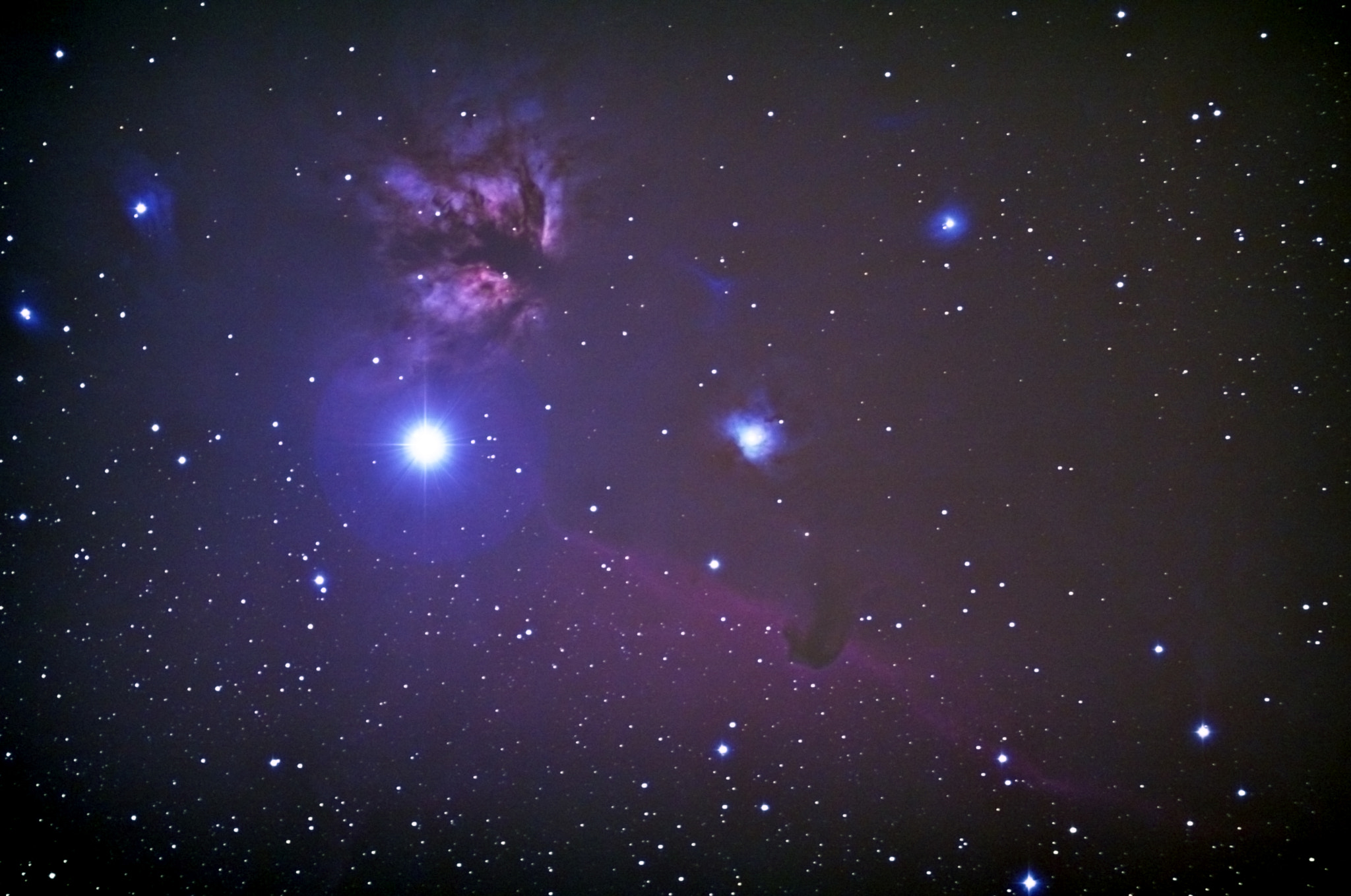 Photograph HorseHead Nebula by Sean Parker on 500px