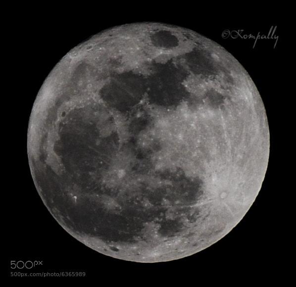 Photograph Full Moon by Sri Kompally Photography on 500px
