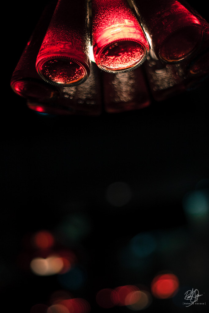 Photograph Bottle Lamp by Roberto Sacasa on 500px