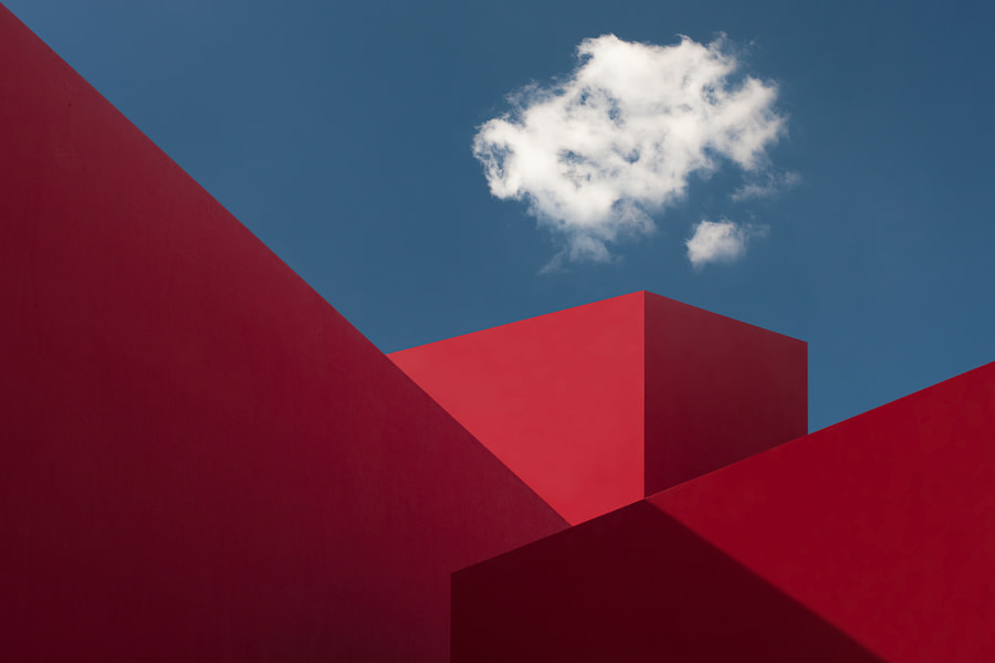 Red Shapes by Hugo Borges on 500px.com