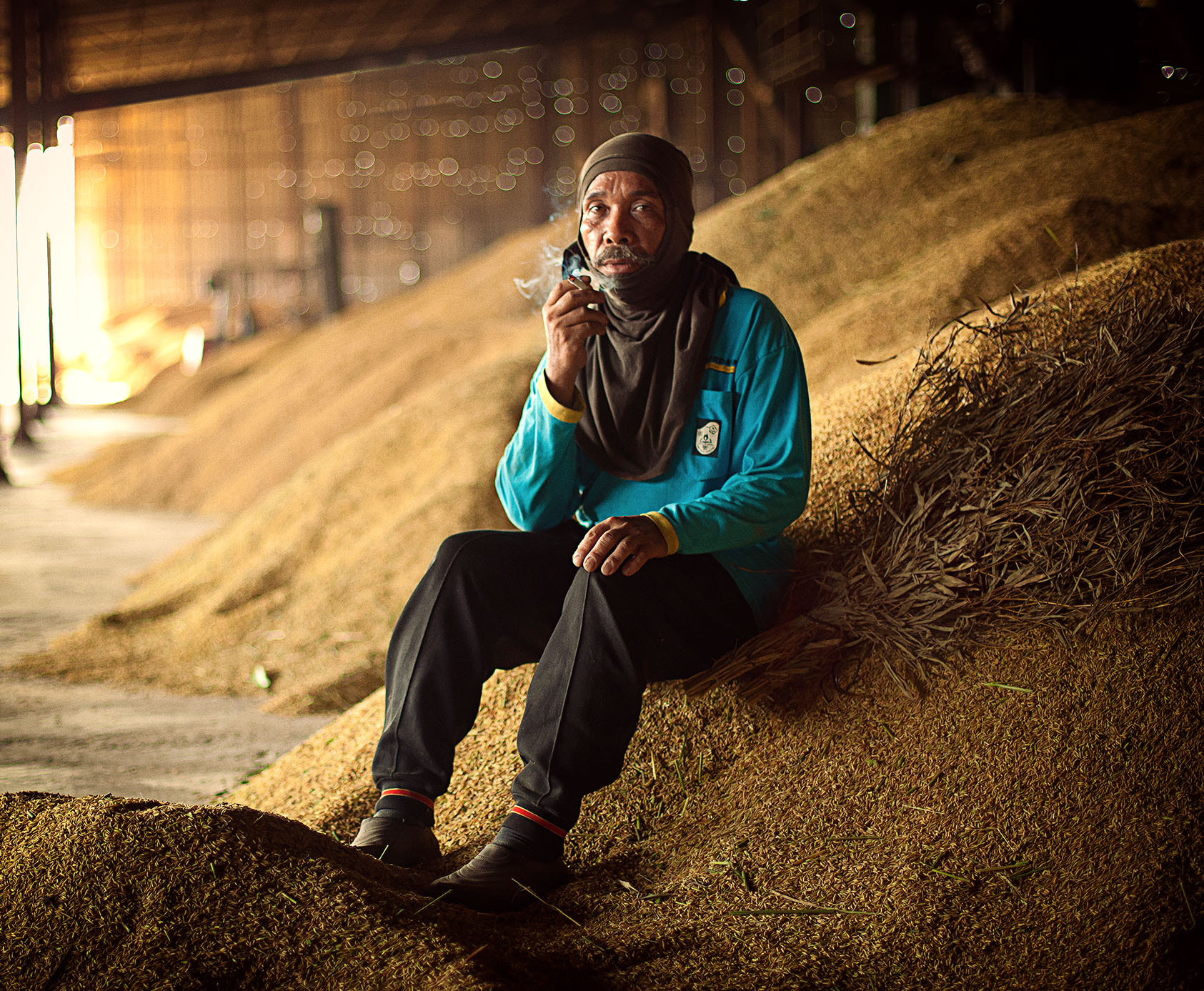 Photograph the rice mill workers by abe less on 500px