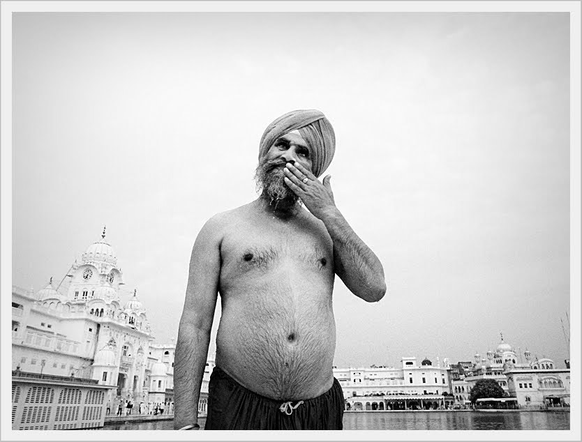 Photograph Man at Golden Temple by Simon Johnson on 500px