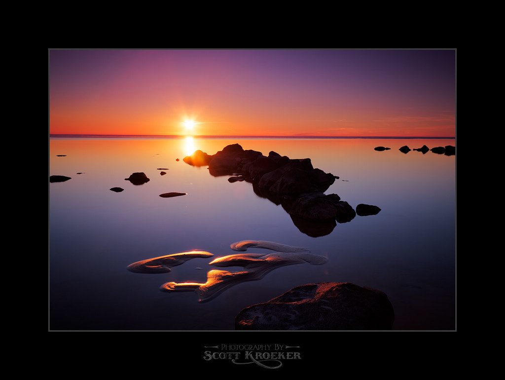 Photograph Sunset at Victoria Beach by Scott Kroeker on 500px