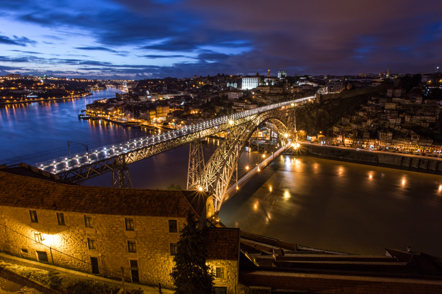 Dom Luis Bridge by Brad Hammonds on 500px.com