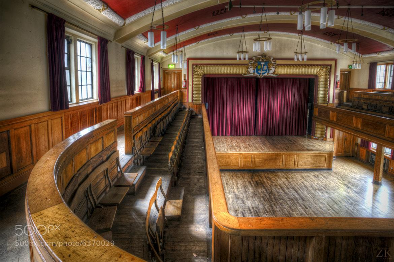 Photograph Glasgow University Union Debates Chamber by Zain Kapasi on 500px