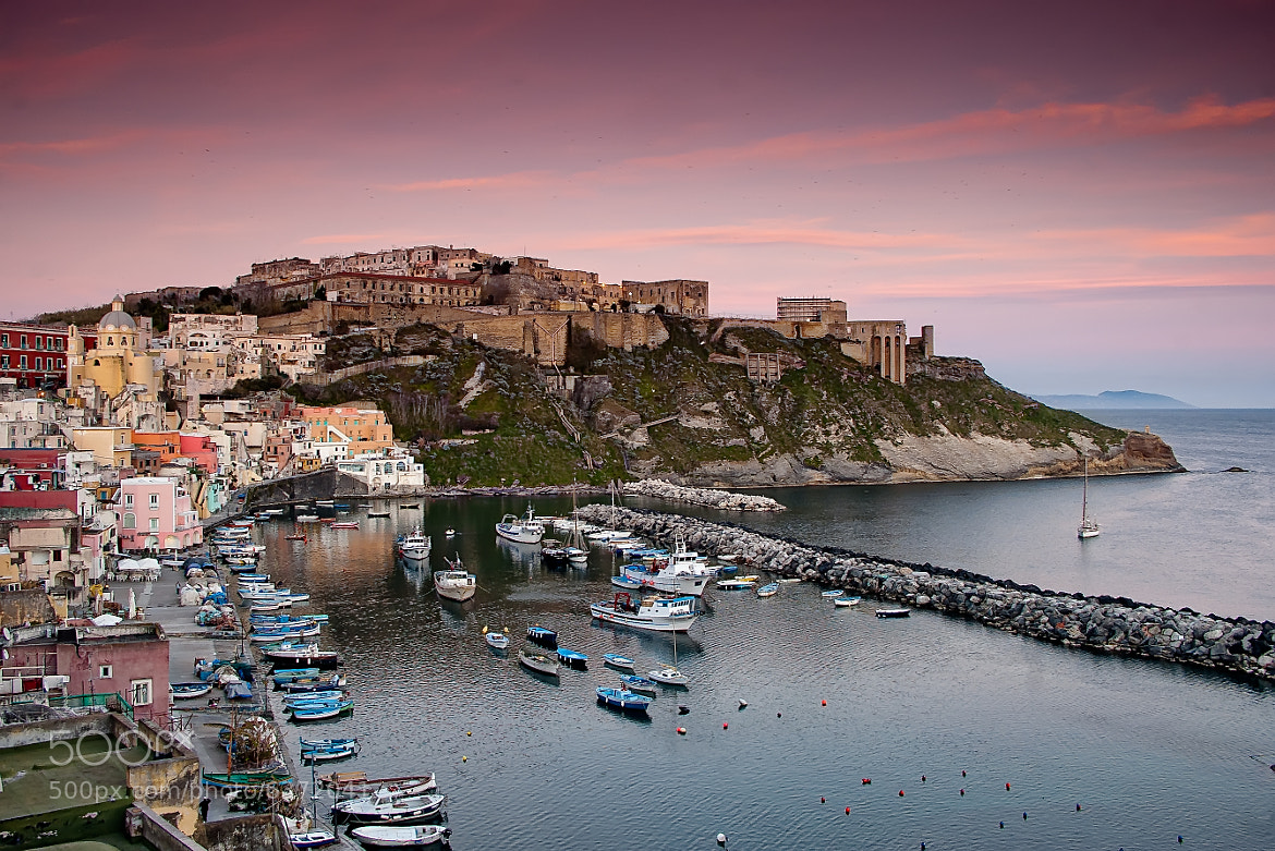Photograph Procida sunset by Giuseppe Maria Galasso on 500px