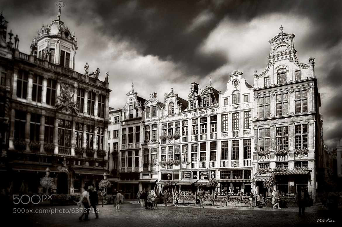 Photograph The Grand Place in Brussels II by Viktor Korostynski on 500px