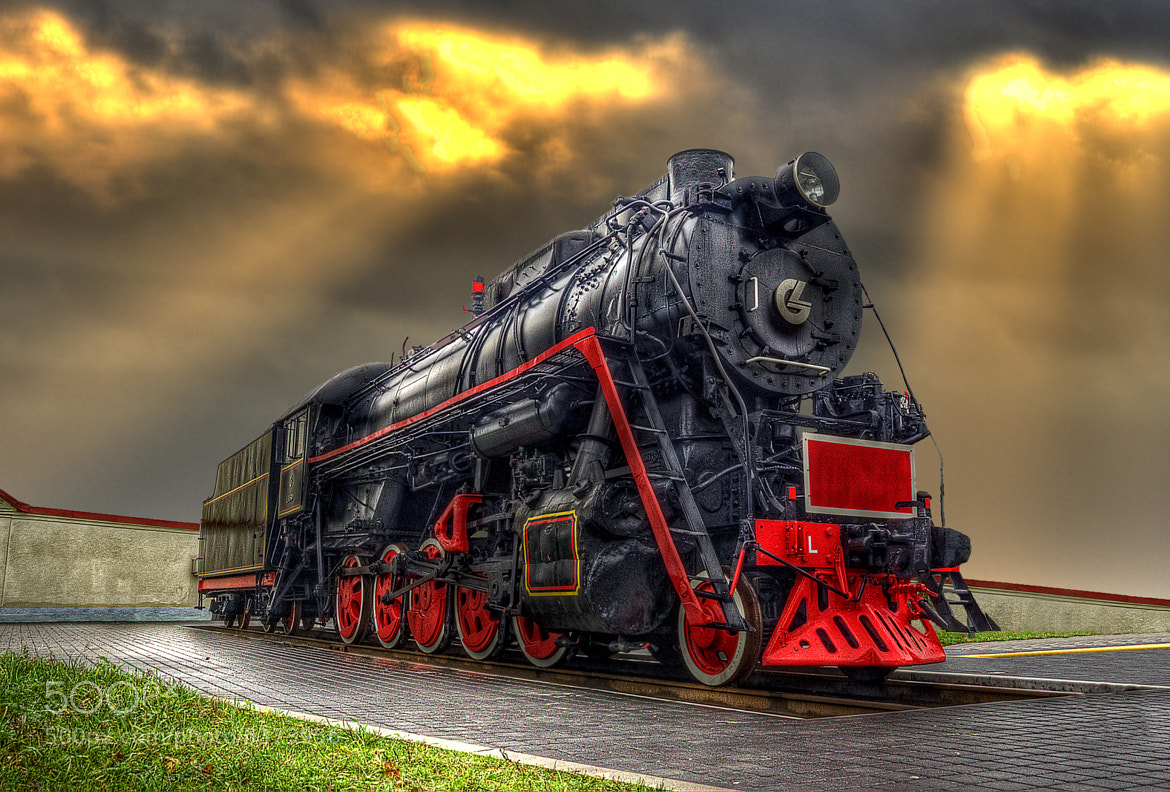 Photograph Old Locomotive by Laimonas Ciūnys on 500px