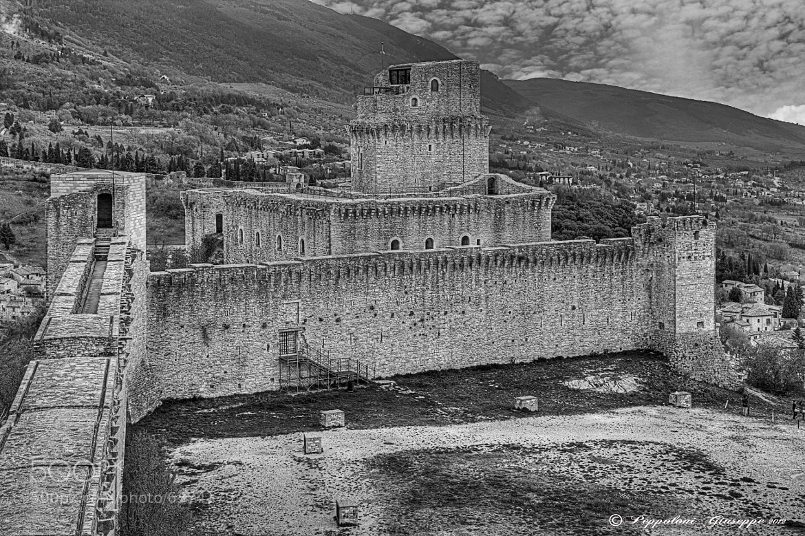 Photograph Assisi - Rocca Maggiore (PG) by Giuseppe  Peppoloni on 500px