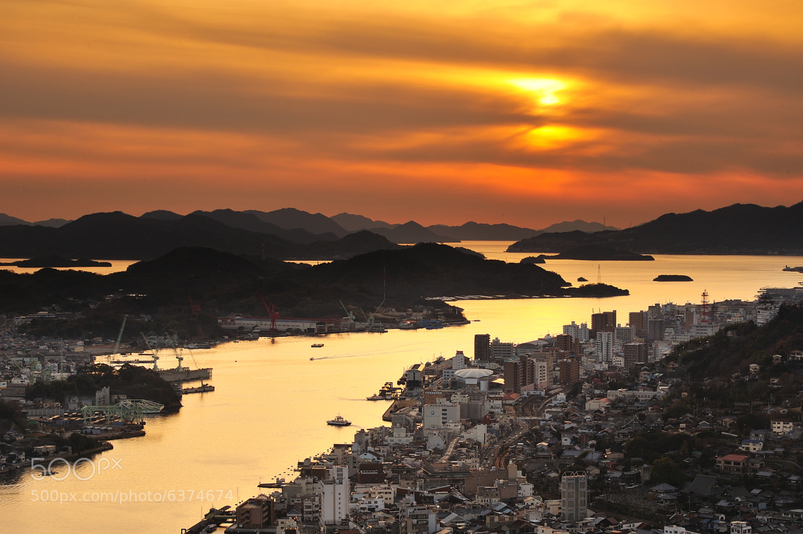 Photograph The setting sun of Onomichi by tyo dai on 500px