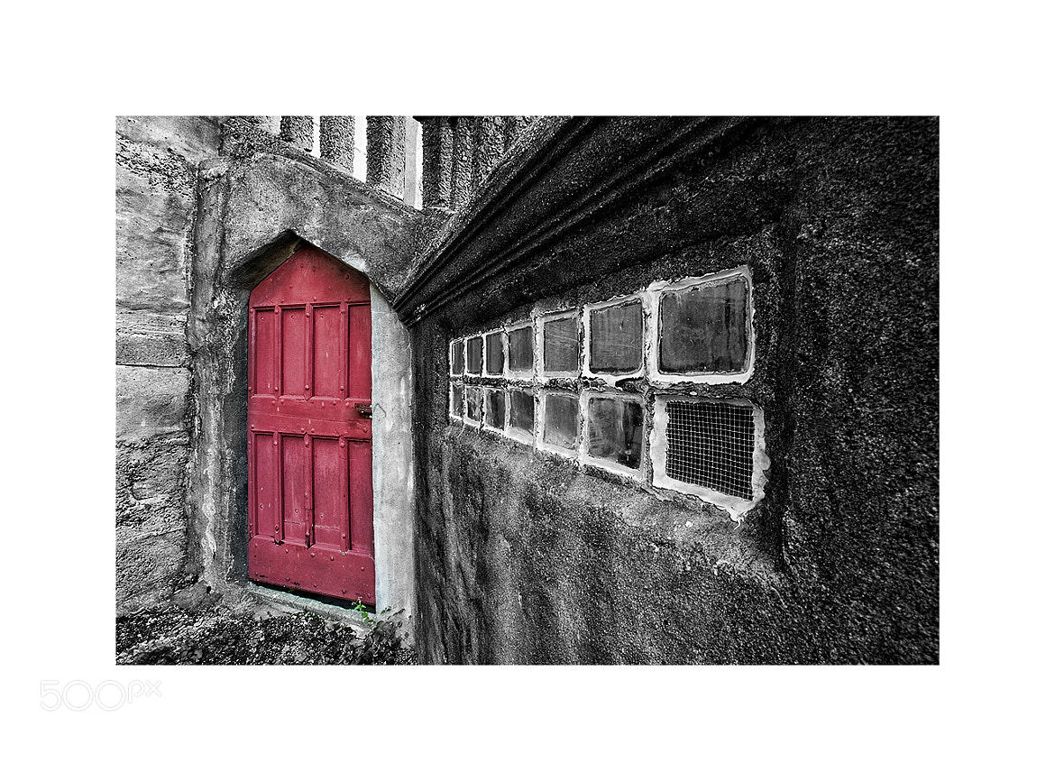 Photograph The Red Door by John Barclay on 500px