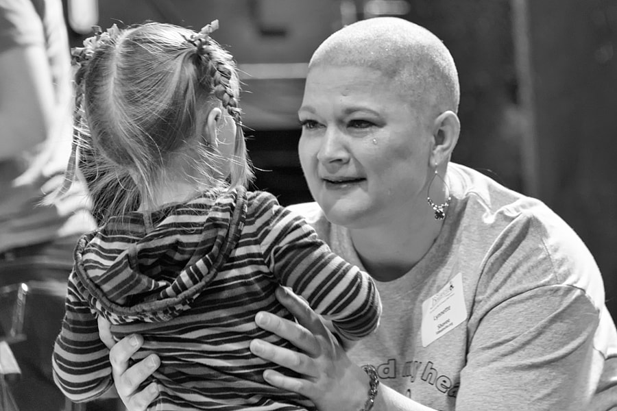 St. Baldricks event in Boise 2014 a