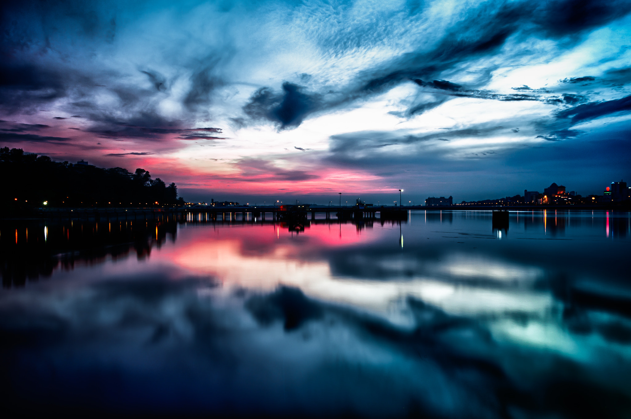 Photograph Blue Reflection by Gordon Chiam on 500px