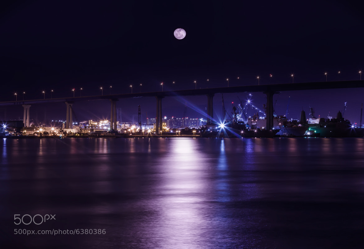 Photograph Moonrise over Coronado by Sairam Sundaresan on 500px