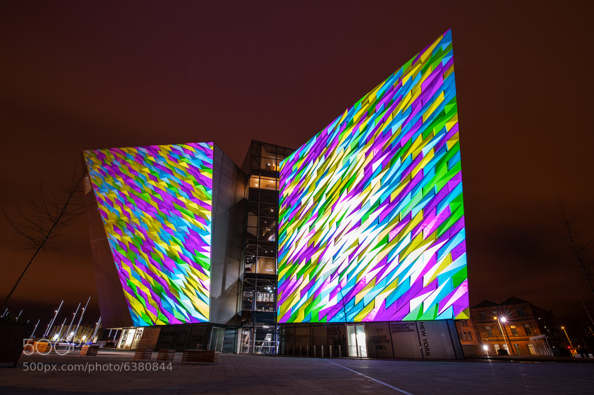 Photograph Titanic Belfast by Adam Shaw on 500px