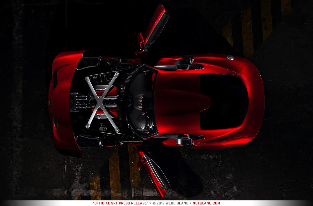 Photograph 2013 SRT Viper GTS Press Release 05 by Webb Bland on 500px