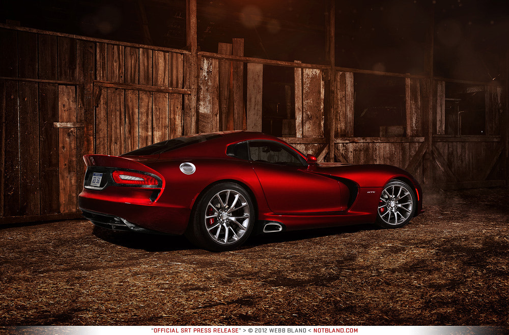 Photograph 2013 SRT Viper GTS Press Release 02 by Webb Bland on 500px