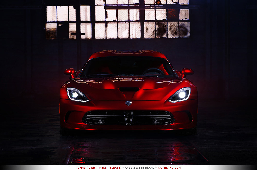 Photograph 2013 SRT Viper GTS Press Release 07 by Webb Bland on 500px