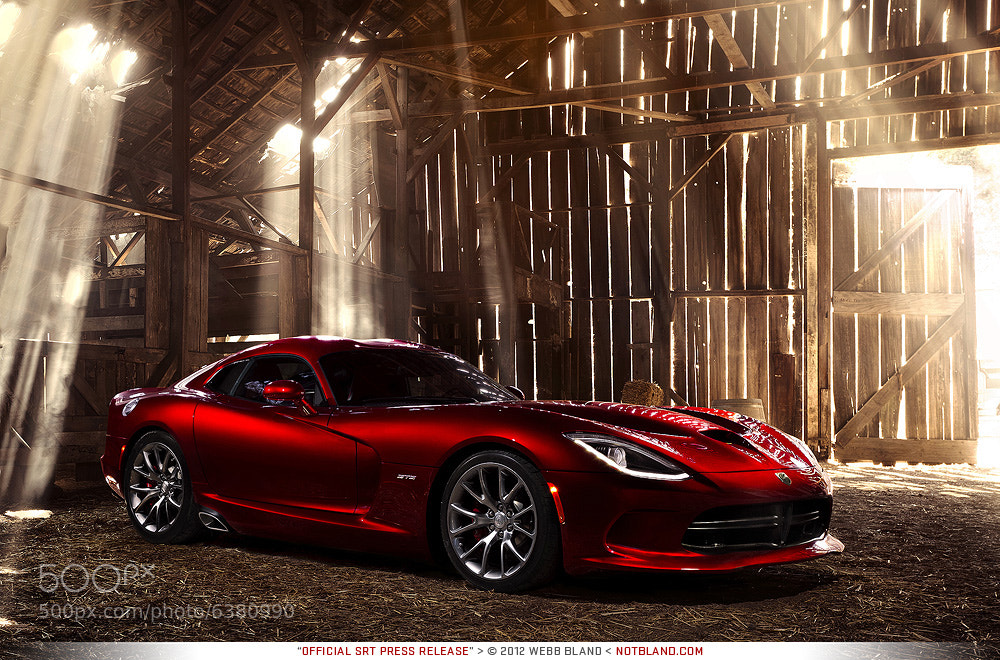 Photograph 2013 SRT Viper GTS Press Release 01 by Webb Bland on 500px