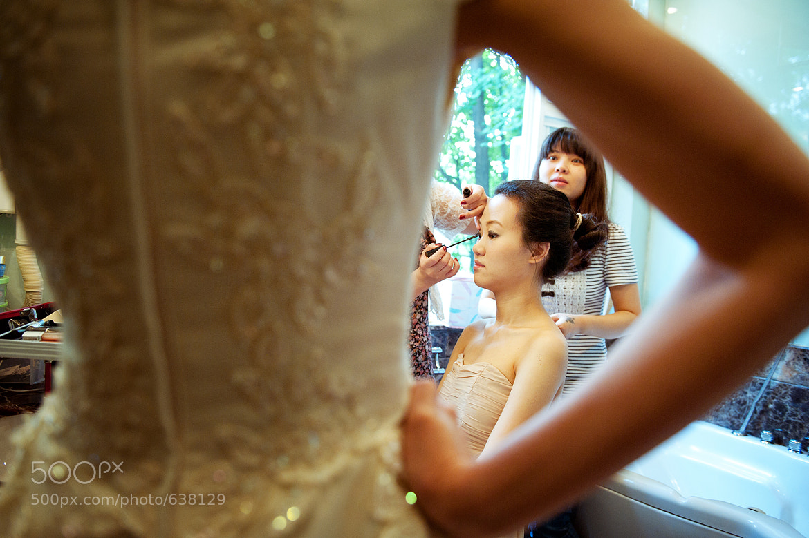 Photograph make up-the bridemaid by Celine He on 500px