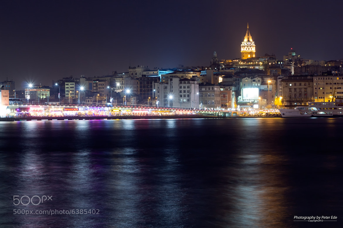 Photograph Galata Tower by Peter Ede on 500px