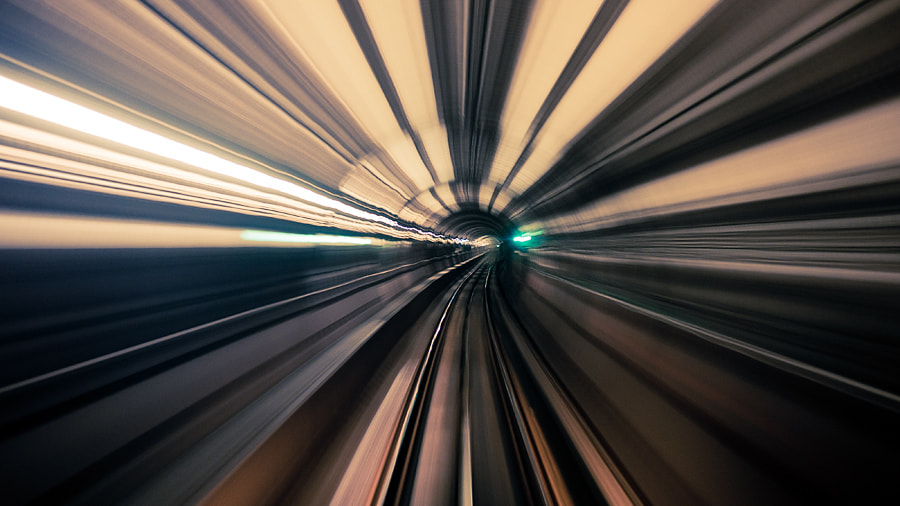 Photograph Zooming Tunnel by Sam Javanrouh on 500px