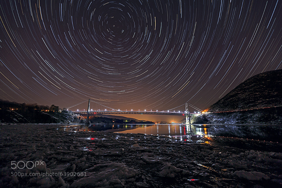 Photograph 30° of Orbital Rotation - Star Trail by Sam Yee on 500px