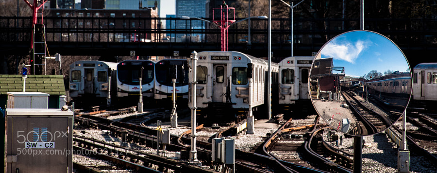 My fascination with the Toronto subway trains continues