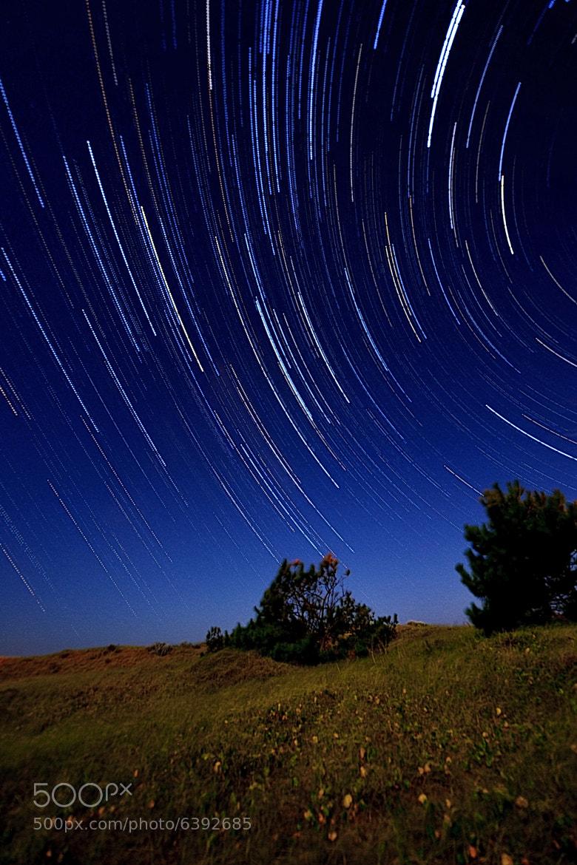 Photograph Startrails en Orense by Nano Perea on 500px