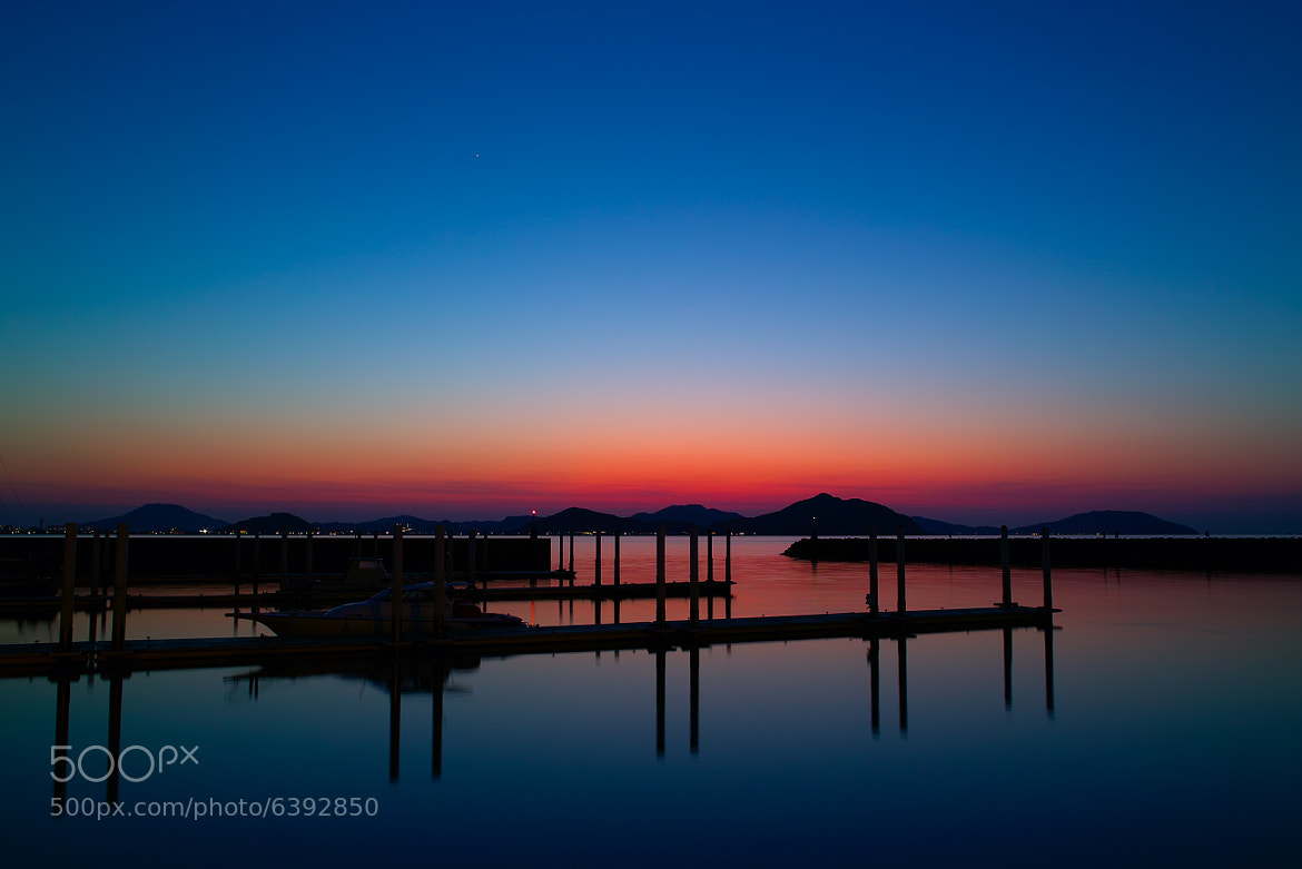 Photograph Twilight Harbor by Junya Hasegawa on 500px