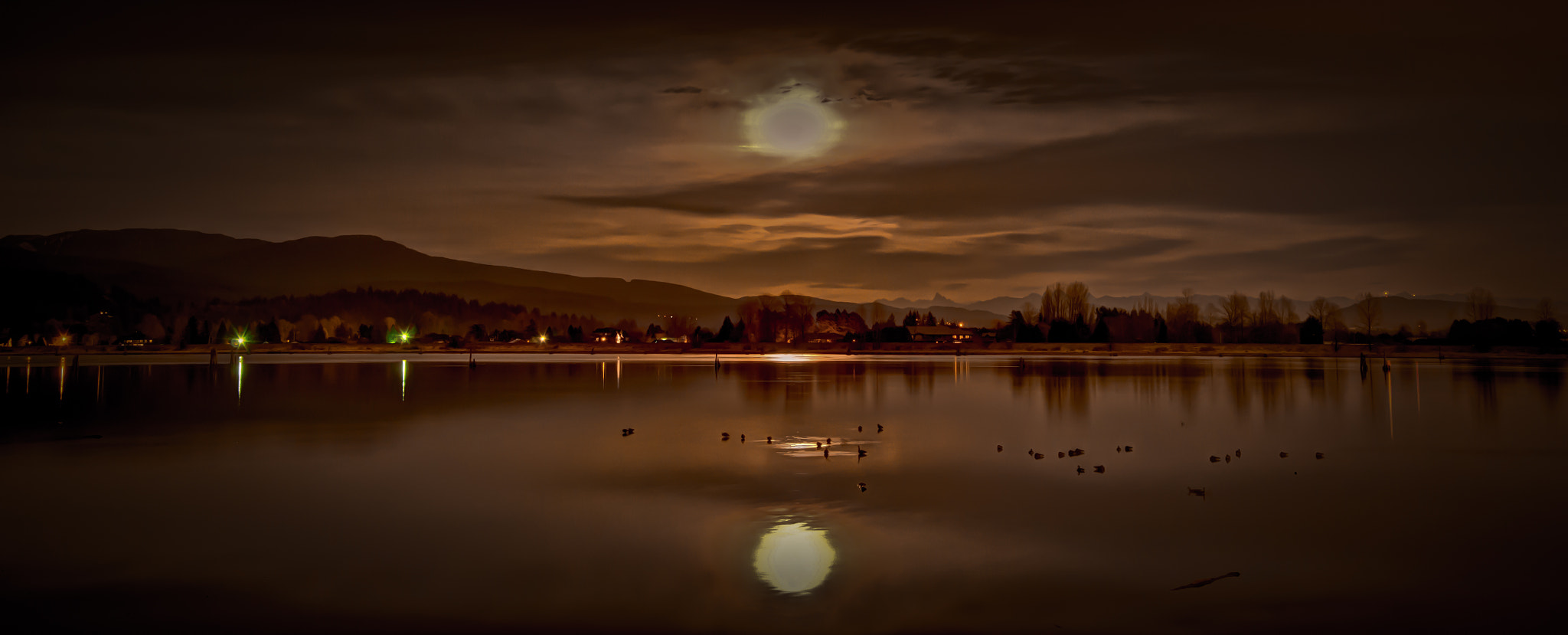 Photograph moon rise by Jerry Janusz on 500px