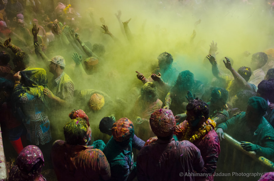 Holi by Abhimanyu Jadaun on 500px.com