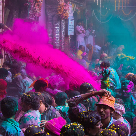 The Riot of colors!