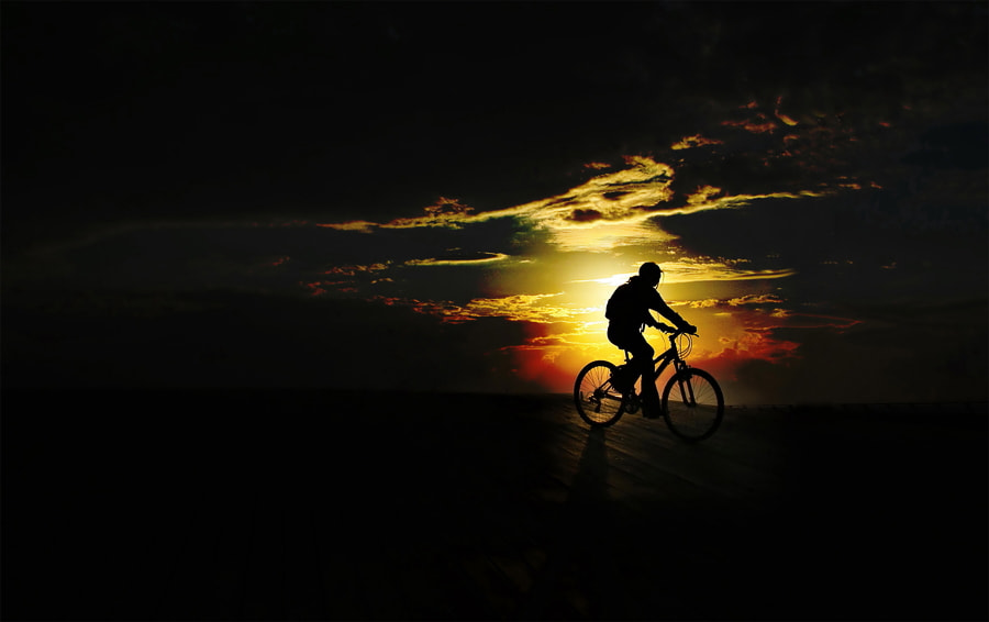 "Photograph ""Riding to the sunset"" by Osher Partovi on 500px"