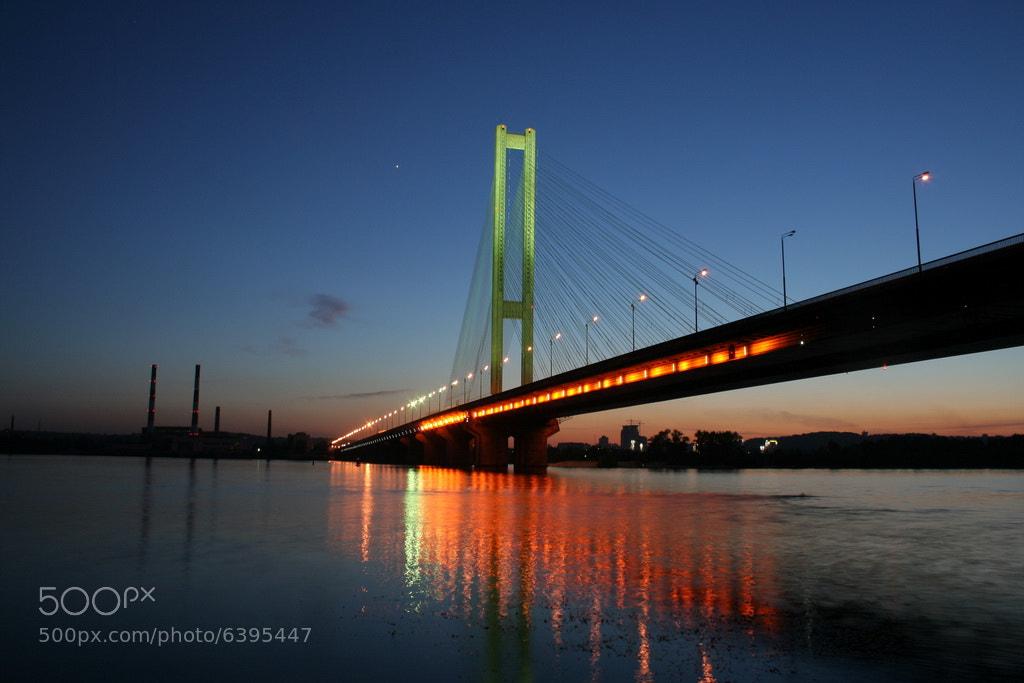 Photograph The Southern Bridge by July  Glushmann on 500px