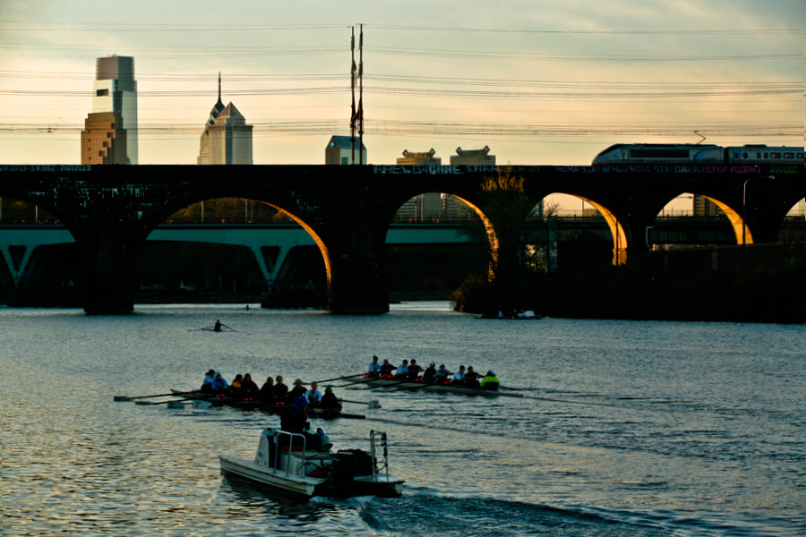 Photograph Early Rowers by Jack Booth on 500px