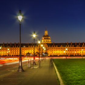 Les Invalides by Abhijit Patil