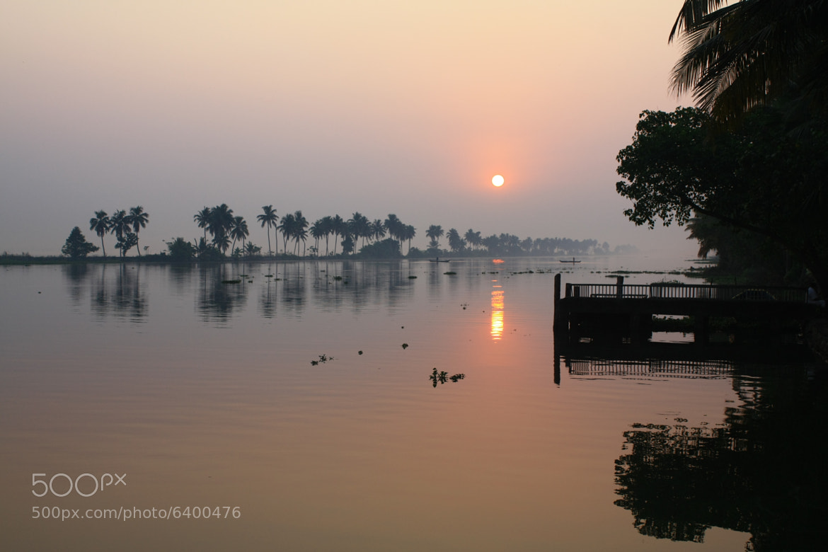 Photograph Morning at Backwaters by shishir1010 on 500px