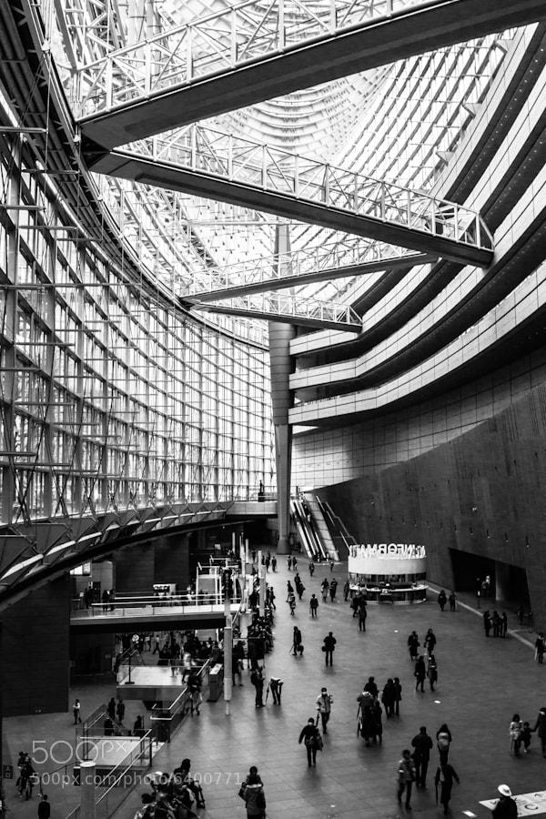 Photograph Tokyo International Forum by Agustin Rafael Reyes on 500px