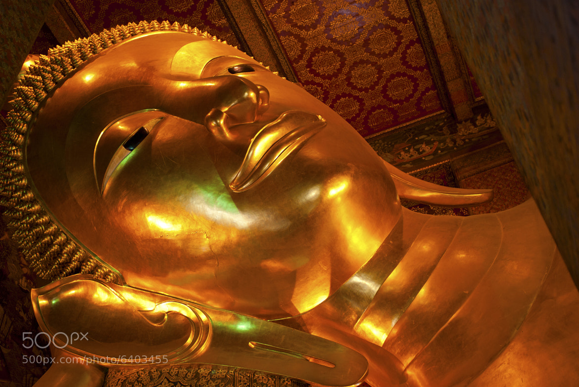 Photograph Reclining Buddha by David Donaldson on 500px