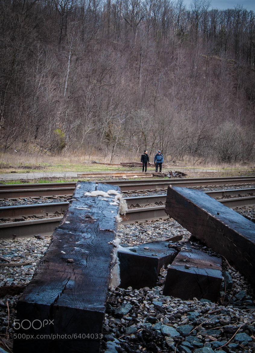 Photograph Railroad Walkers by Nick Tsouroullis on 500px