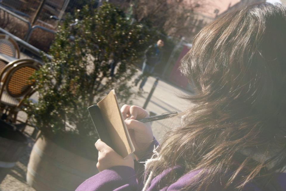 Photograph Girl Sketching by Maddie Hills on 500px