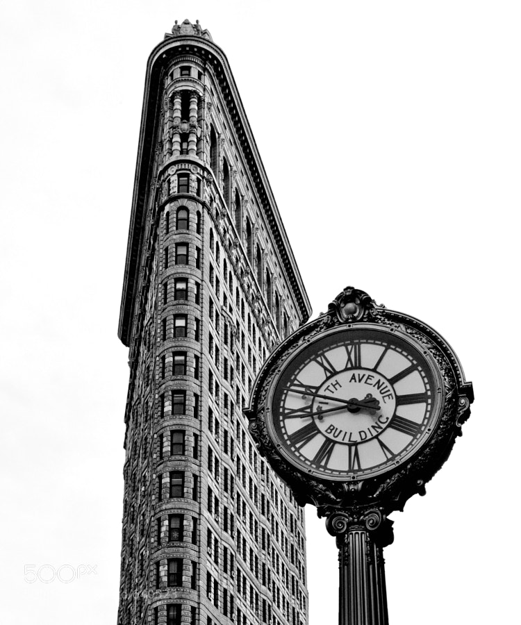 The Flatiron Building in NYC
