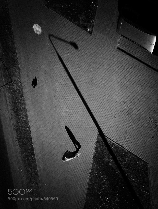 Photograph walking under the moon by Irina Ivanova on 500px