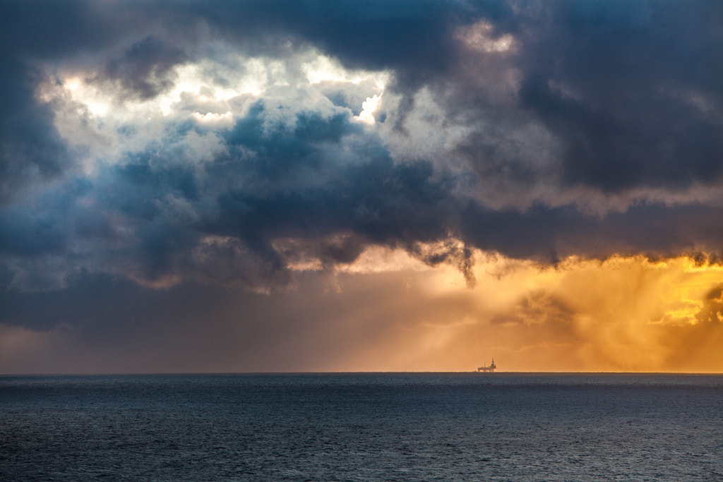 Photograph North sea by Tore Heggelund on 500px