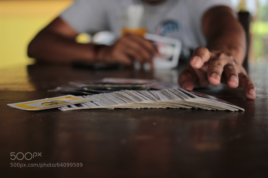 Photograph Gimme my cards by Korak Datta on 500px