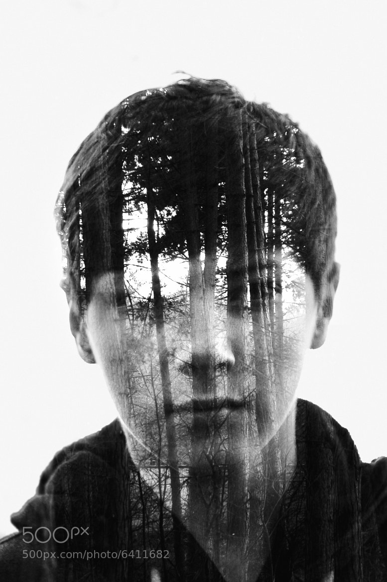 Photograph Tree Boy- Double exposure by Gabrial Deacon on 500px