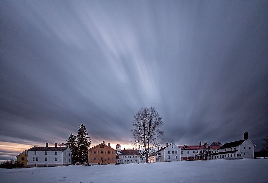 Scenes from Canterbury Shaker Village, Canterbury, NH, Winter 2014 by Scott Snyder Photography on 500px.com