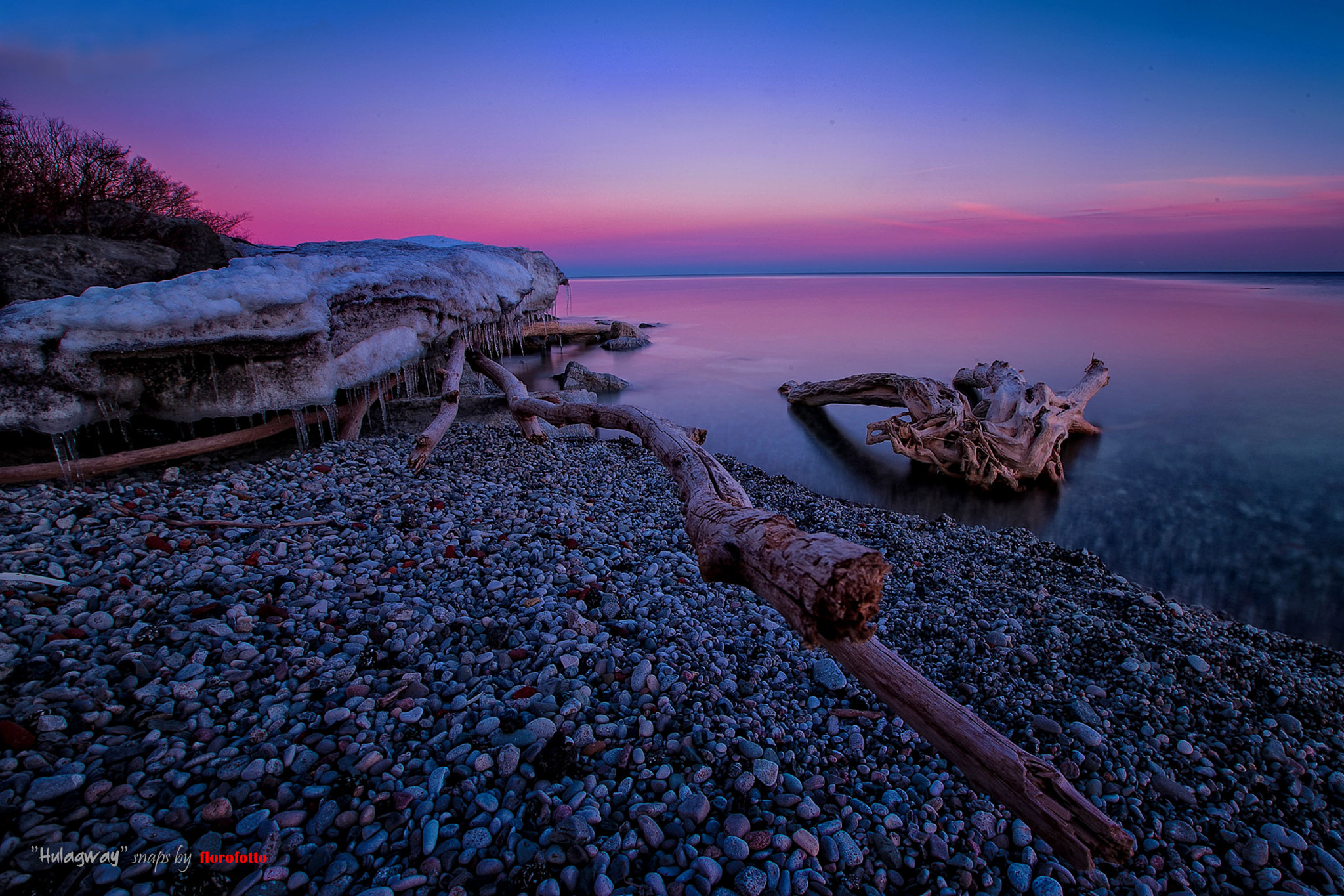 Photograph blue hour meets sunset at Humber Bay by Floro Virtucio on 500px