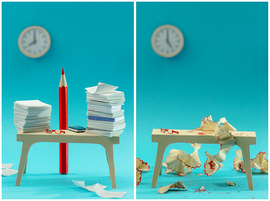 Try harder (Workaholic) by Dina Belenko on 500px